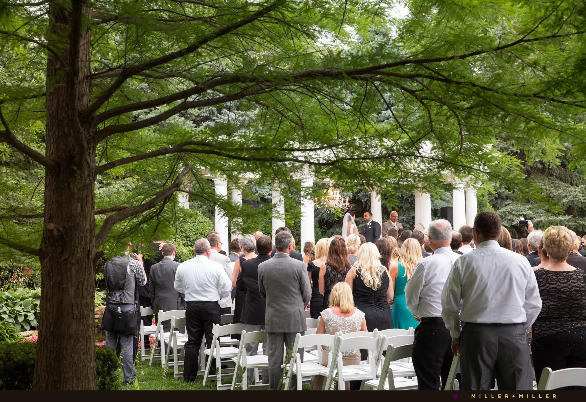 outdoor ceremony Chicago suburbs