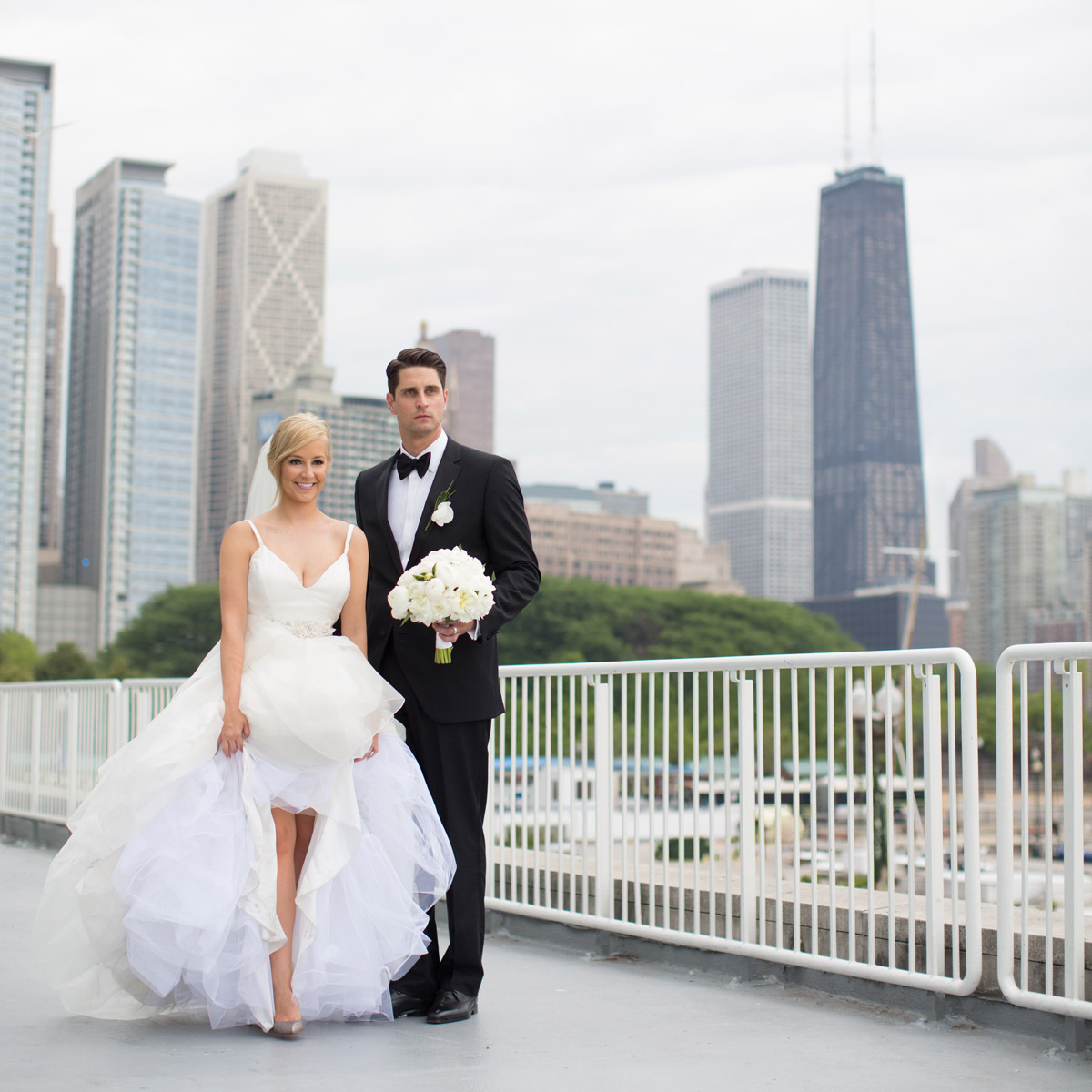 Weddings Trump Tower Terrace Chicago