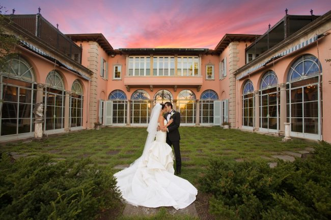 Labrador mansion wedding