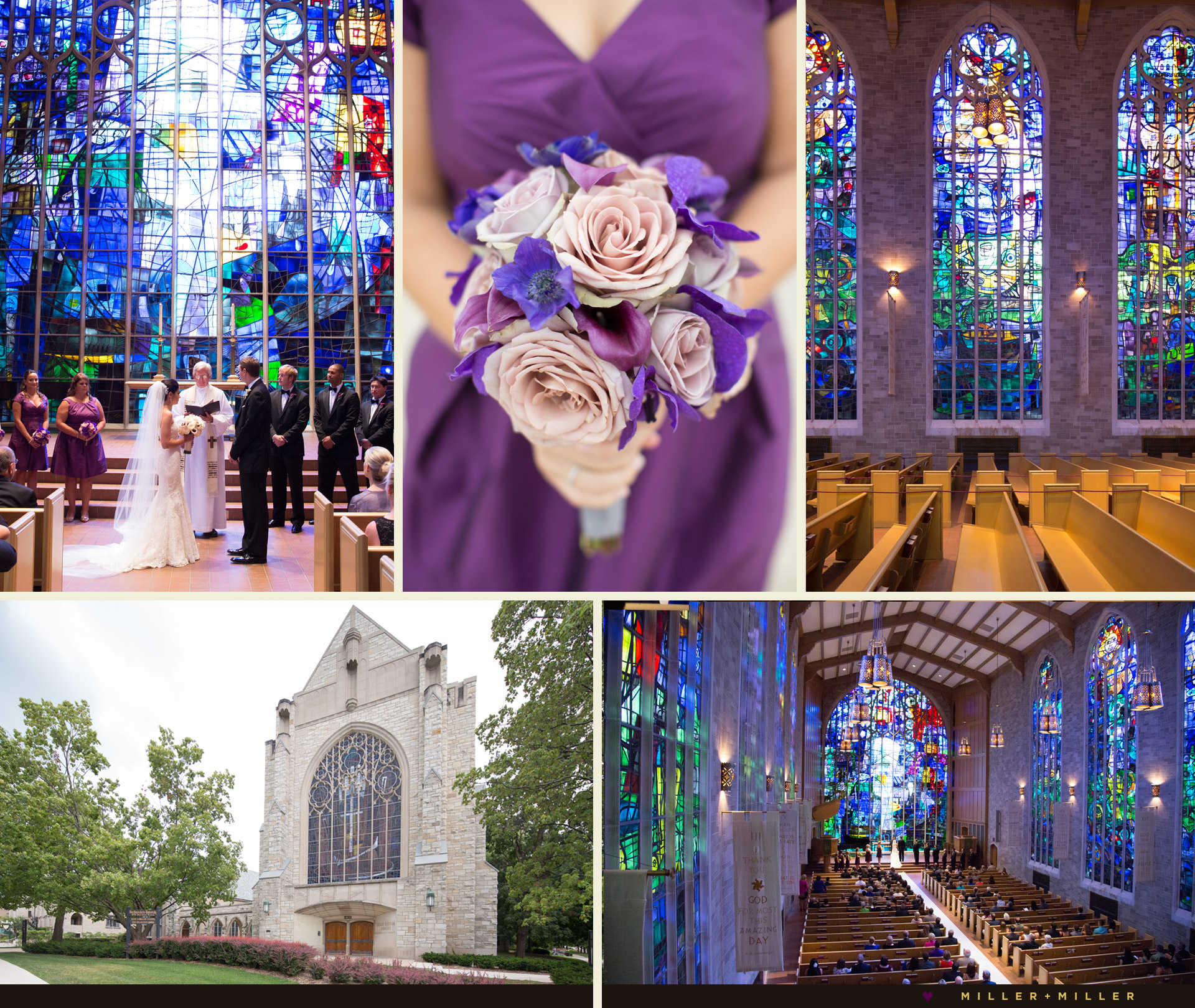 Alice Millar Chapel Northwestern ceremony