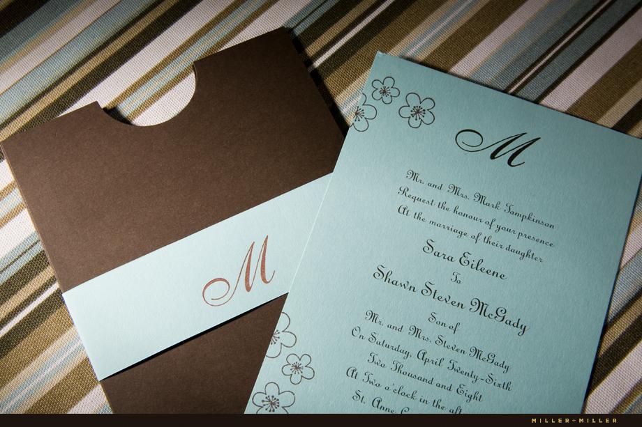 Shawn Saras Custom Wedding Invitations Chicago Wedding
