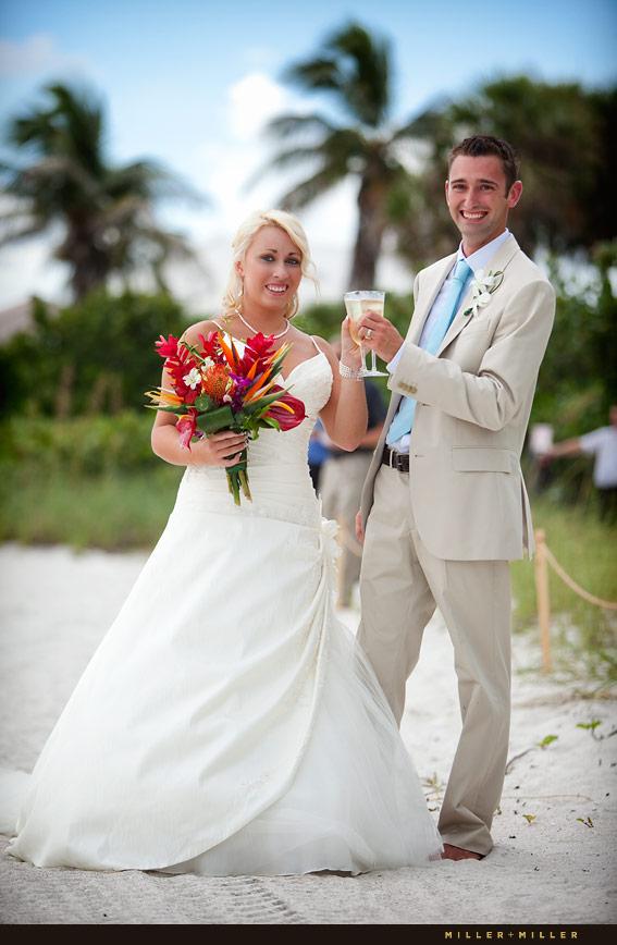 Sanibel Island Beach Wedding Photography