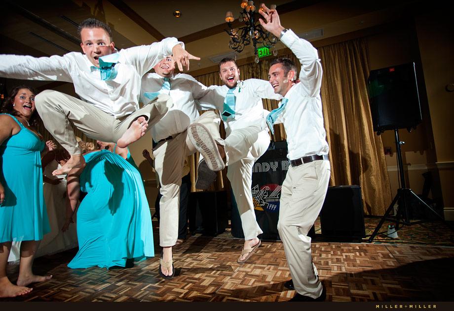 Dance Floor Wedding Photography