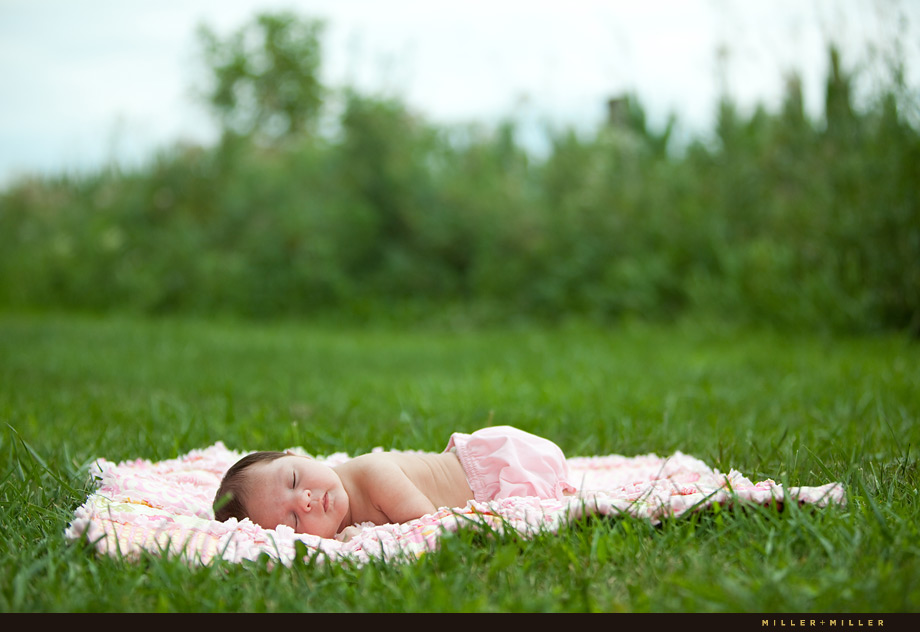 Yorkville il baby portraits