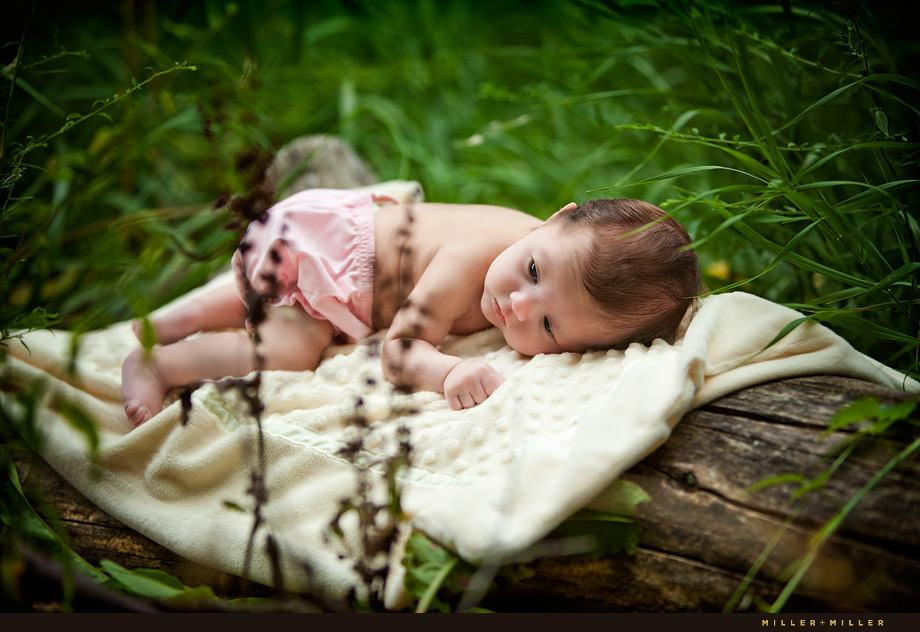 Yorkville Illinois Newborn Baby Photography