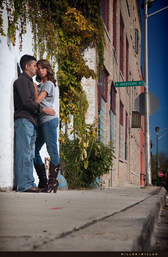 beautiful urban in love photo