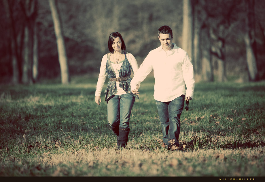 natural downers grove il engagement photo