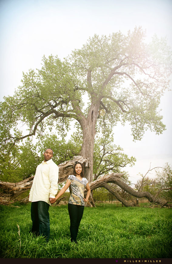 beautiful nature engagement photo session starved rock