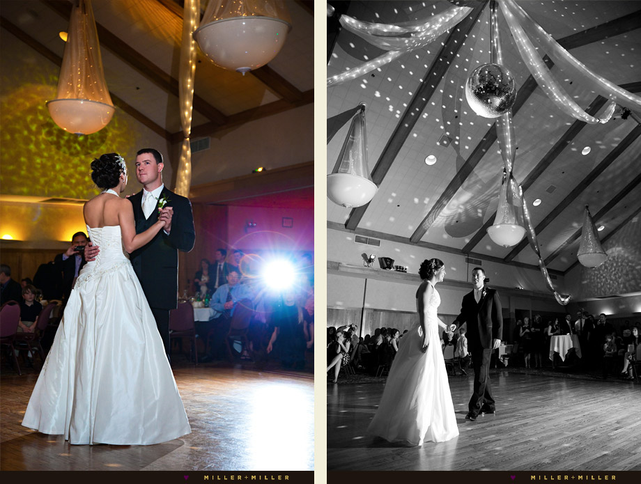 Chandler's Schaumburg Golf Club wedding first dance