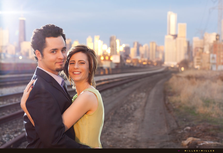 chic engagement photographer chicago
