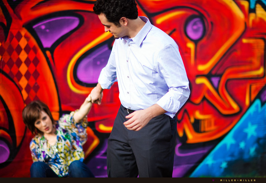 intense color engagement photos midwest