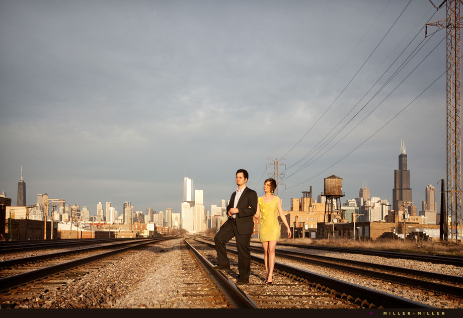 Pazzo's Chicago engagement wedding photographer