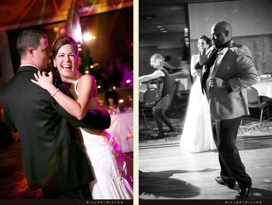 Schaumburg reception dancing pictures