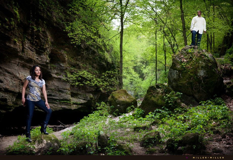 starved rock engagement session photographer