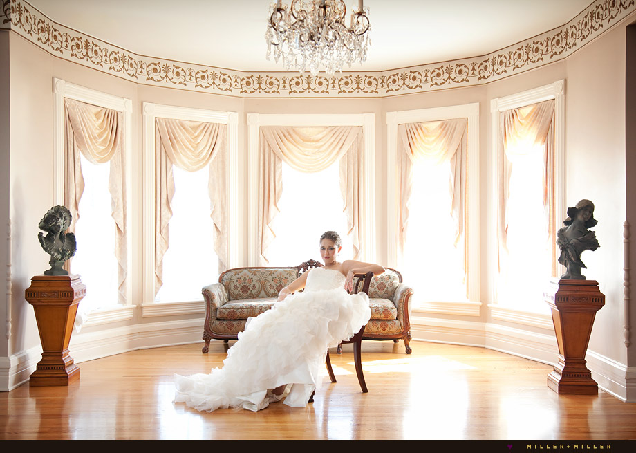 chicago bride editorial stylish wedding photography