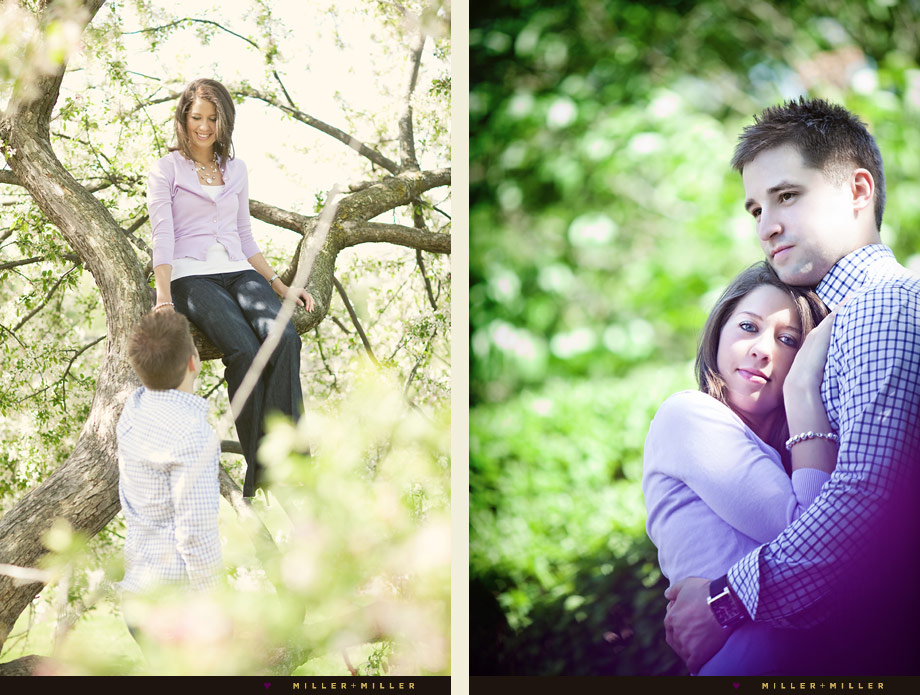 engagement photographer wheaton illinois nature