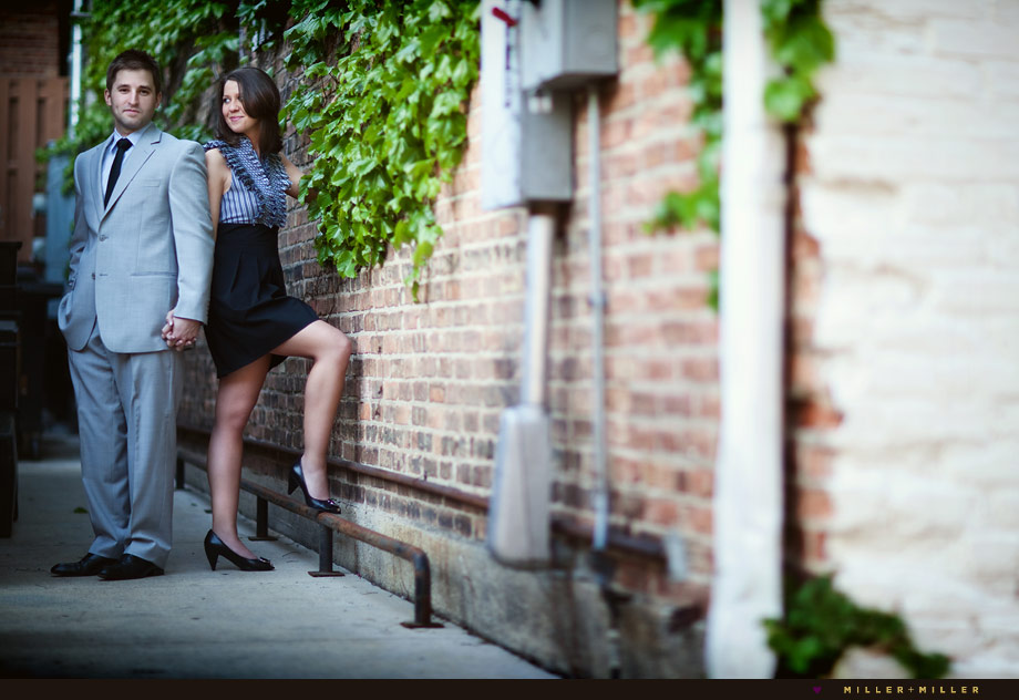 fashion engagement photography session naperville