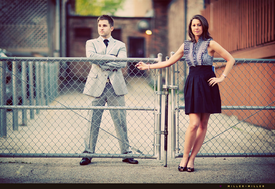 fashion engagement photography wheaton illinois