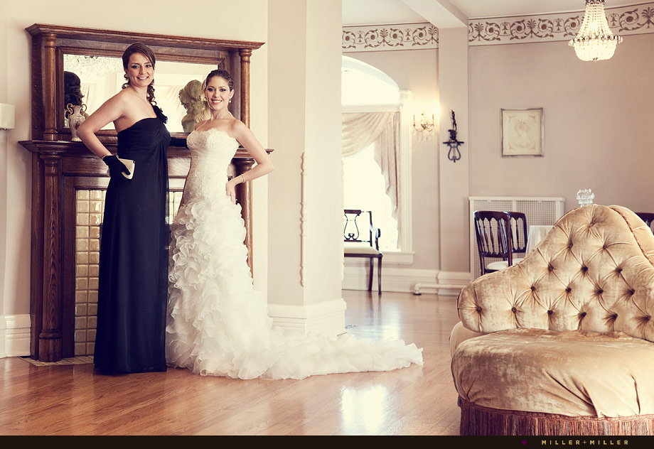 illinois mansion bridal photo session historic wedding