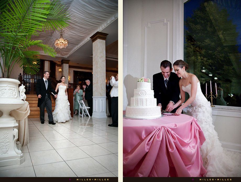 lavish ballroom joliet wedding cake photos pink