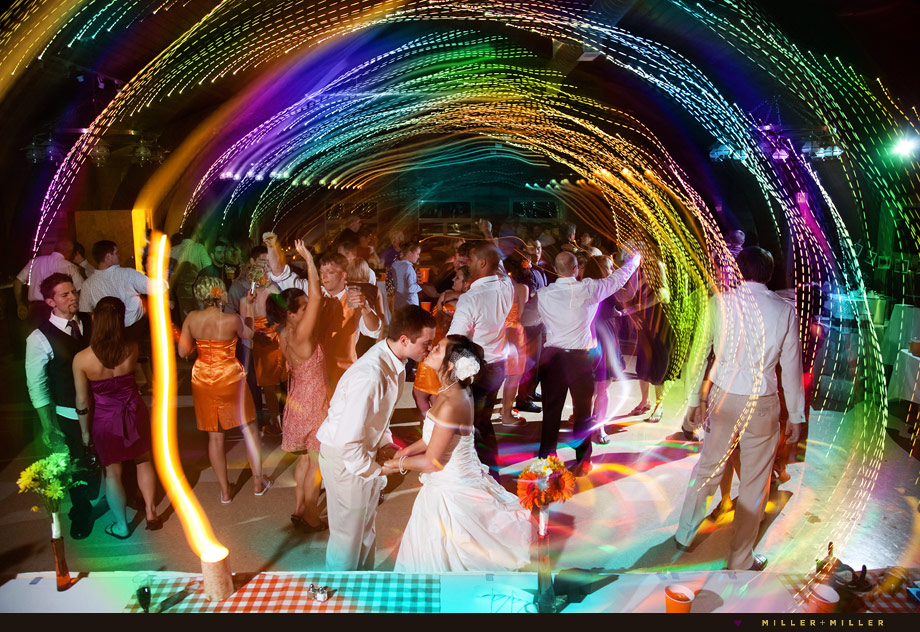 awesome dance floor illinois wedding photography