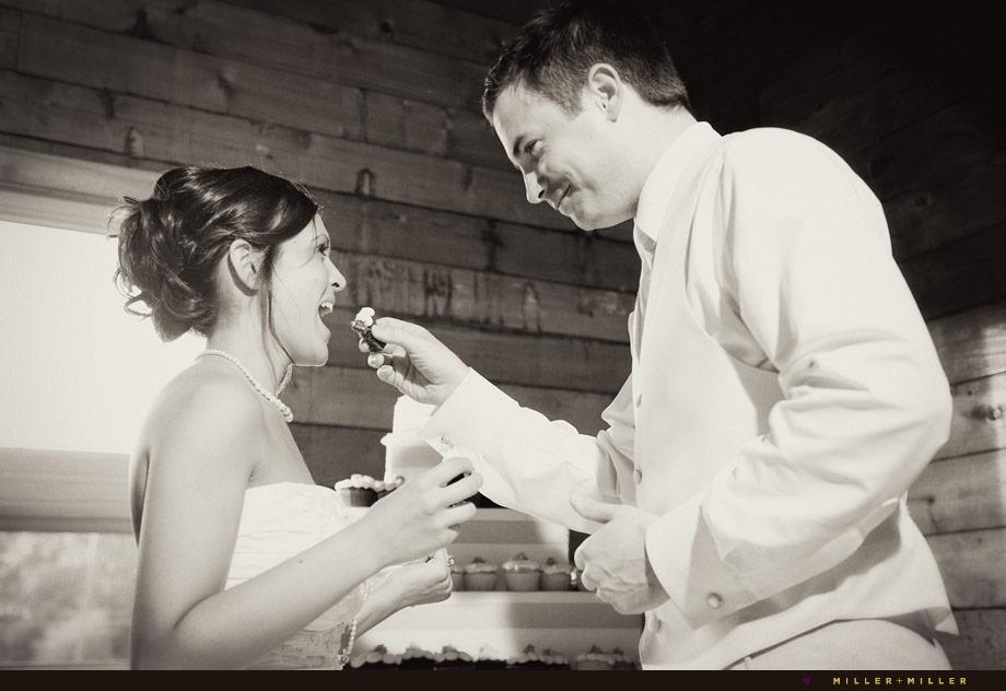 chicago wedding cupcake cutting illinois