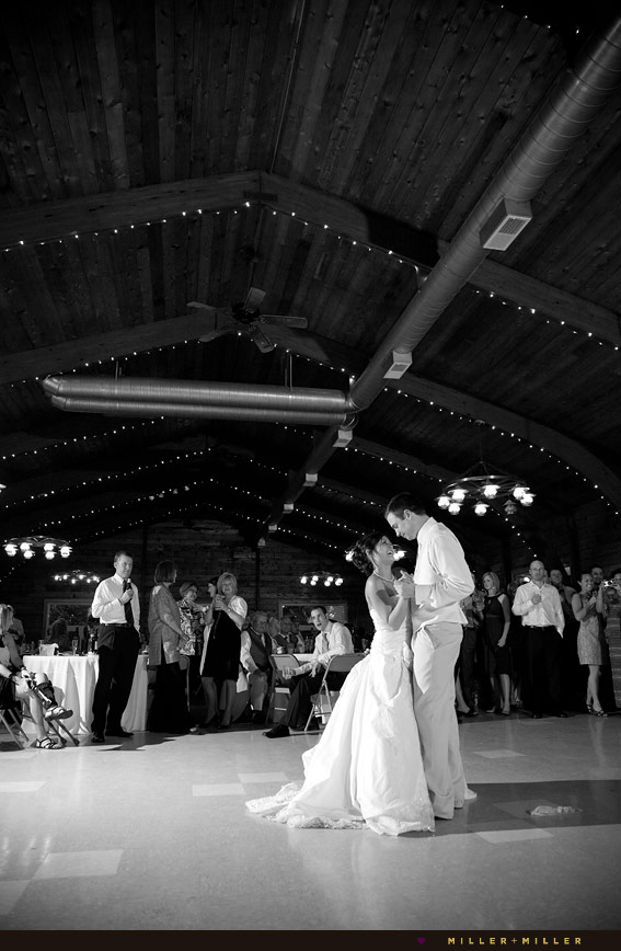 chicagoland barn wedding reception dancing