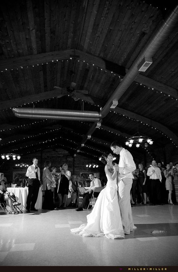 chicagoland barn wedding reception dancing