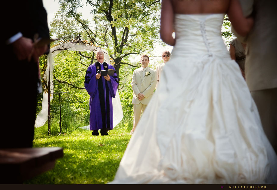 elegant outdoor chicago wedding photographer