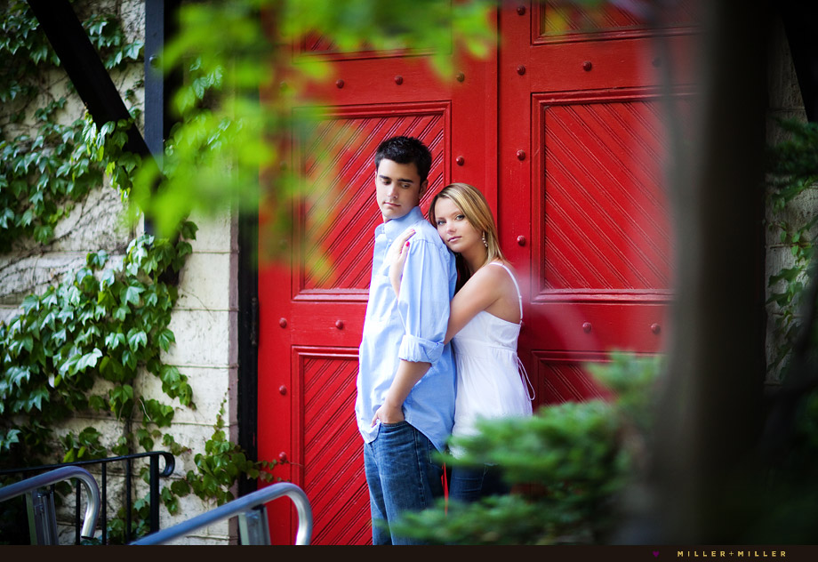 Elmhurst engagement photography illinois pictures