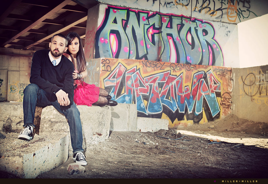 graffiti urban unique chicago engagement
