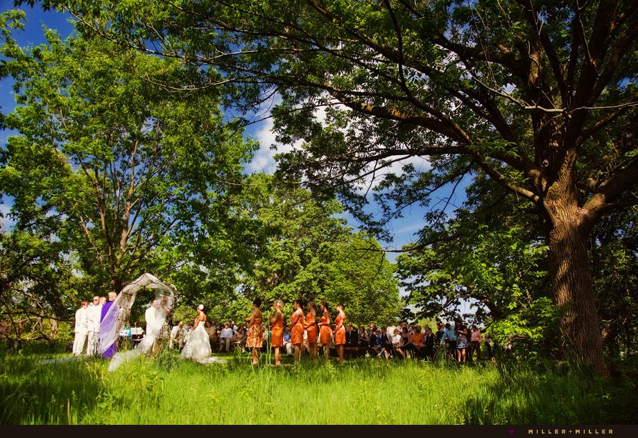 scenic country illinois wedding photographer pics