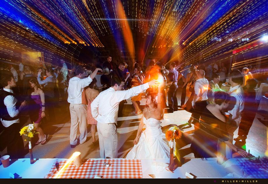 unique dancing wedding photos illinois winery