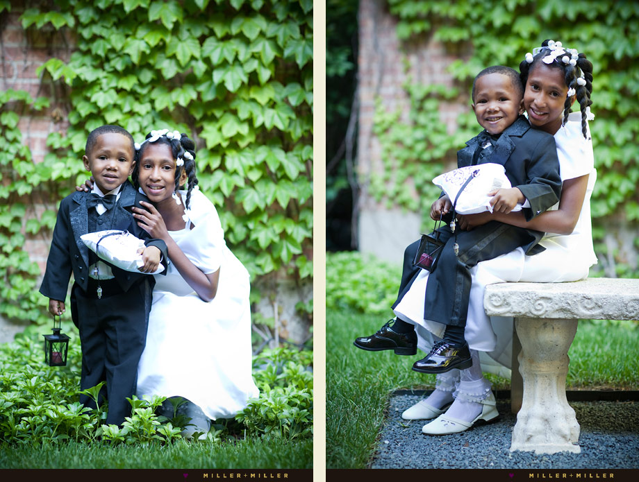 Ceremony Flower Girl Ring Bearer