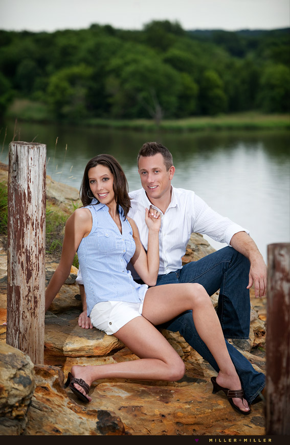 creative Naperville engagement photography