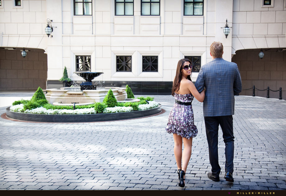 Elysian Chicago engagement photography high-fashion