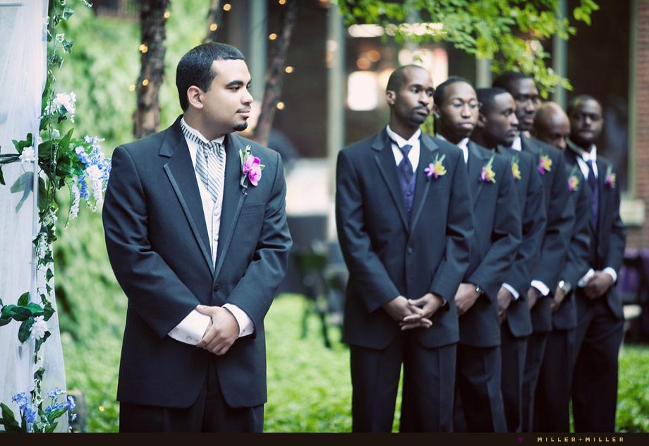 groomsmen ceremony