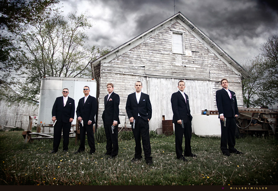 illinois groomsmen wedding photography
