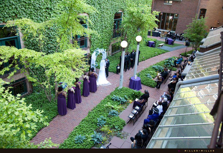 Ivy Room Outdoor Ceremony