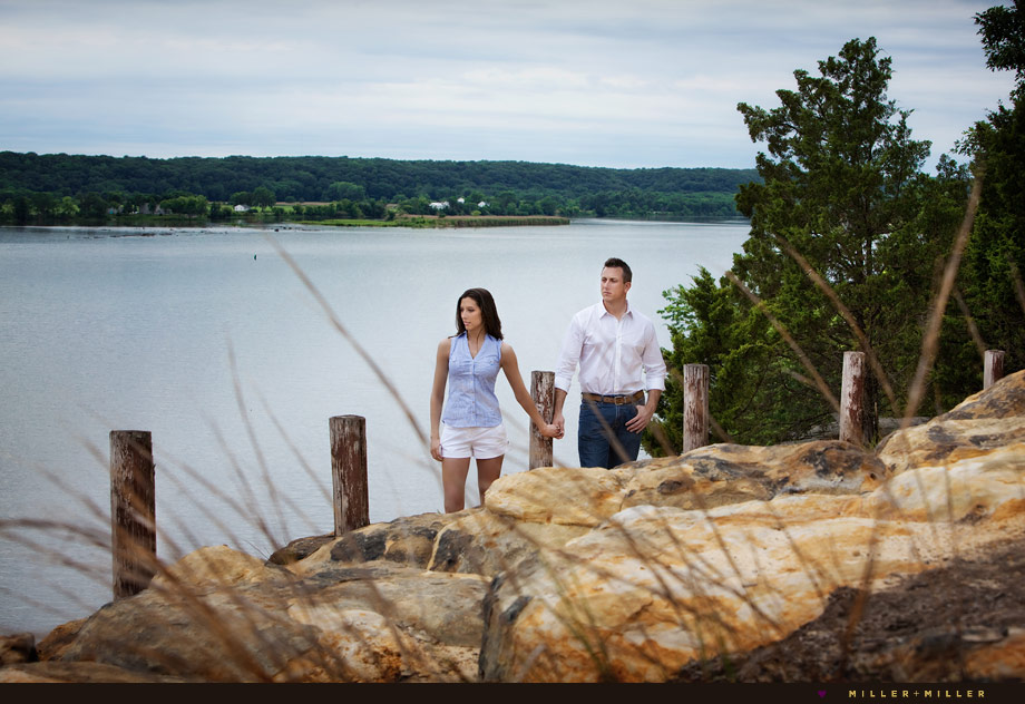 Peoria Illinois engagement photographer