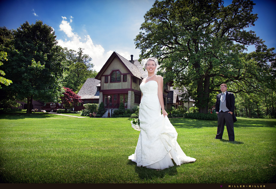 The Redfield Estate Wedding Photographer Glenview