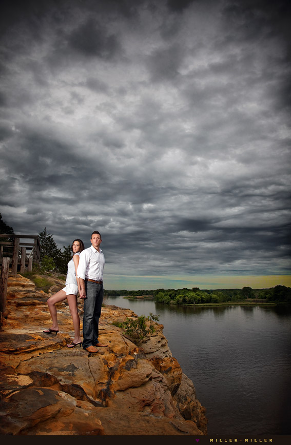 starved rock engagement photography