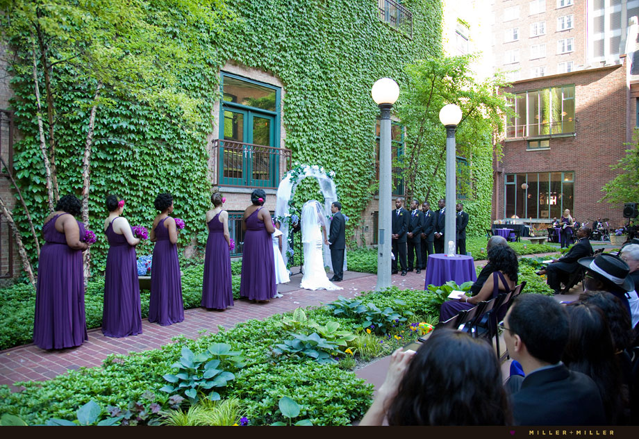 the Ivy Room outdoor Chicago courtyard