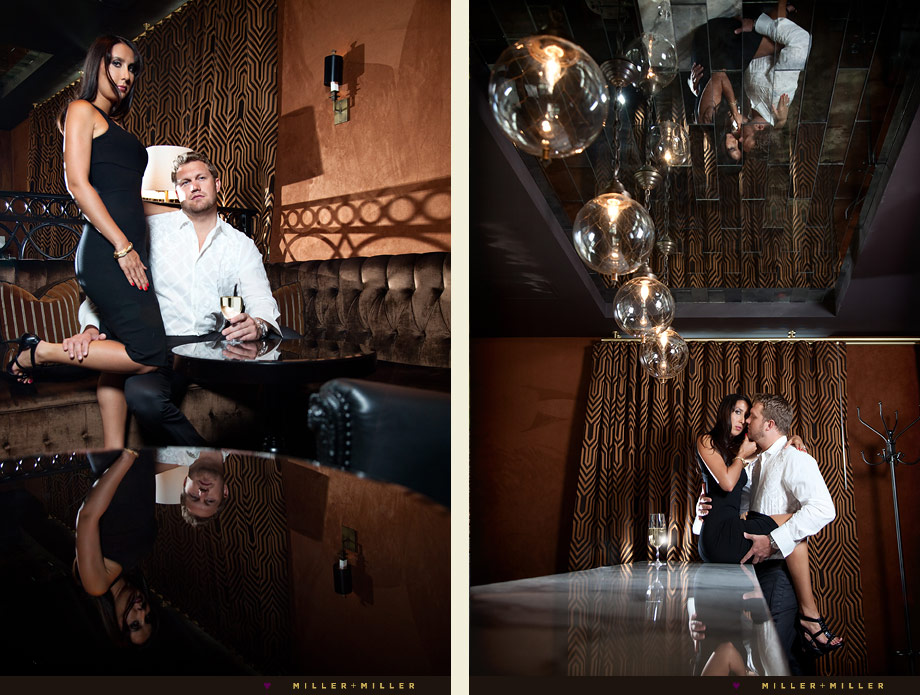 ultra chic engagement photography photos