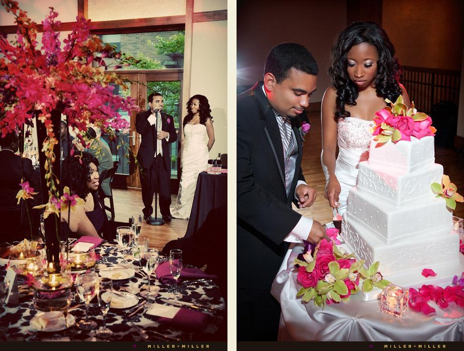 Vanille Pastisserie wedding cake