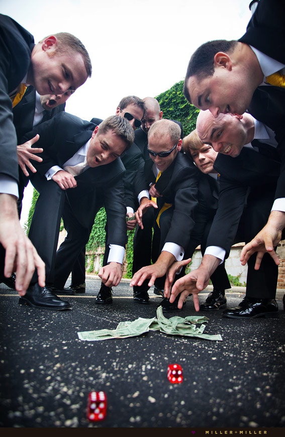 awesome groomsmen wedding photo