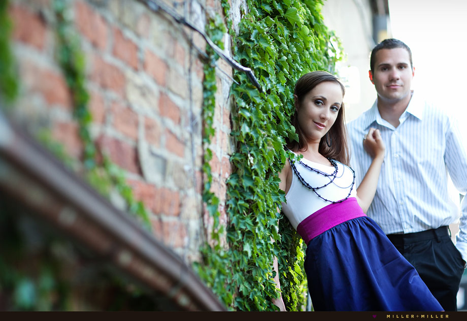 brick alley edgy engagement