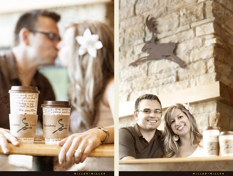 caribou coffee shop engagement