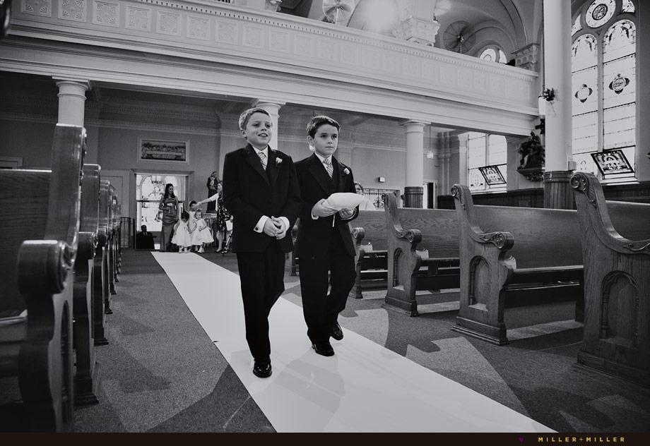 Chicago Catholic church ring bearer