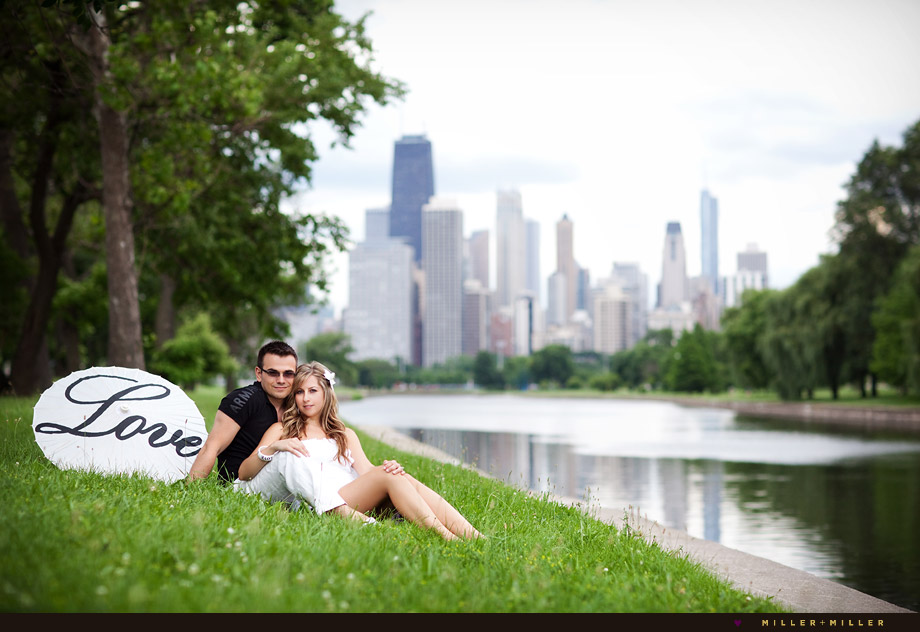 Chicago engagement images